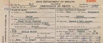 Requesting A Death Certificate Death Record Request Zanesville Muskingum County Health