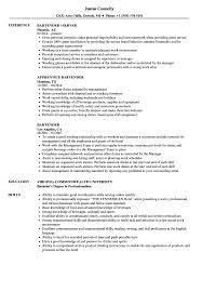 Responsibilities of bartender for resume