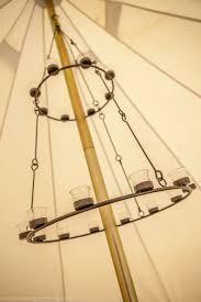 home or garden tea light chandelier tea light holder by bell tent boutique