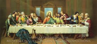 leonardo da vinci the last supper oil painting reion