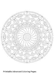 Free Printable Advanced Mandala Coloring Pages Mandala G Pages Free