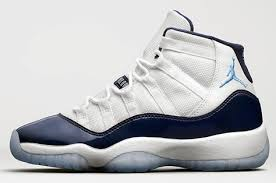 jordan shoes 2017. air jordan 11 \u201cwin like \u002782\u201d (shop shoes on nicesole2008) white/midnight navy-university blue release date: november 11, 2017 378037-123 | $220