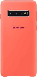<b>Чехол</b> (<b>клип-кейс</b>) <b>Samsung S</b> 10 (G 973) SiliconeCover pink EF ...