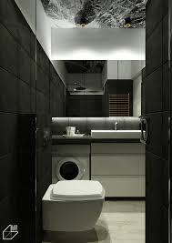 Charming Blue Accent Apartments With Compact Layouts - Luxury apartments bathrooms
