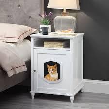 Designer Pet Products Litter Box Amazon Com Unipaws Designer Cat House Cat Washroom Indoor