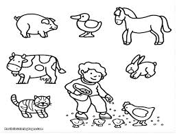 Animal Printable Coloring Sheets Free Coloring Pages Farm Animals