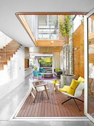 Interior Courtyard House Plans Home Design Ideas  Pictures    Contemporary deck idea in Sydney