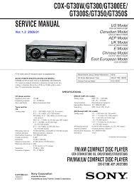 sony stereo receiver wiring diagram wiring library pdf for sony cdx gt300 car receiver manual rh umlib com wiring cdx sony diagram