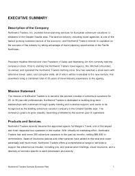 executive business plan template business plan template executive summary of a business plan