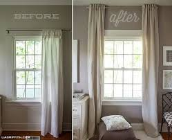 Curtain rods for small windows Arched Window Bedroom Window Treatments Small Windows Image Result For Hang Mirror Above Window To Make It Look Sgiusainfo Bedroom Window Treatments Small Windows Short Side Panel Curtain