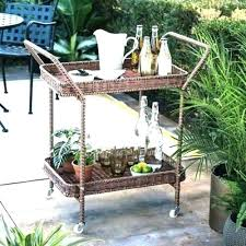 outdoor serving table ikea patio ideas or cart barn stain intended for servi