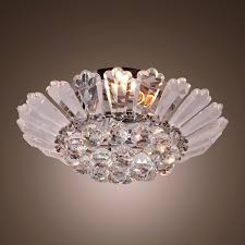 chandelier style ceiling fans lovely lightinthebox modern semi flush mount in crystal feature home