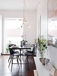creative dining room chandelier. Modern Brass Chandelier In The Dining Room. Image Via Stadshem. Creative Room G