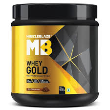 MuscleBlaze Whey Gold Protein (Whey Protein Isolate Only, 1.1 lb Rich Milk  Chocolate) | Whey gold, Isolate protein, Gold whey protein
