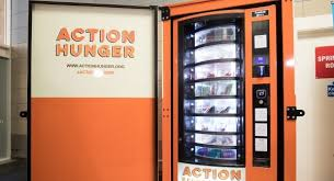 Vending Machine Help Simple Vending Machine For The Homeless Unveiled By UK Charity Irish Examiner