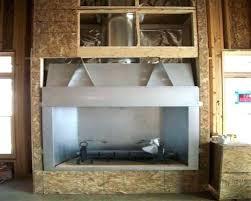 wood burning fireplace gas starter kit install pipe ga