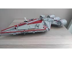 Star Wars Solar Lights Lego Moc 14461 Star Wars Arquitens Class Light Cruiser Star