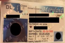 Maker Card Id Maryland Fake