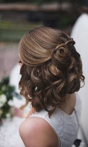 Half Up Half Down Wedding Hairstyles 92 Inspiration 24 Short Wedding Hairstyle Ideas So Good You'd Want To Cut Hair