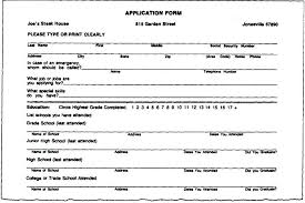 Fill In Resume How To Fill Out Resume Resume For High School ...