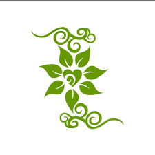 green and white background design png. Contemporary White Flower Jasmine With Love Core White Background Design Clipart Green With Green And White Background Png T