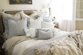 shabby chic bedding can add an elegant vintage touch to your room