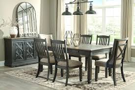 7 piece black dining room set. 7 Pieces Dining Room Set Creek Black Gray Piece With Bench U