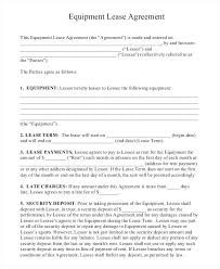Rental Agreement Fascinating Plant Hire Agreement Ate Product Rental On Ates Office Agreements