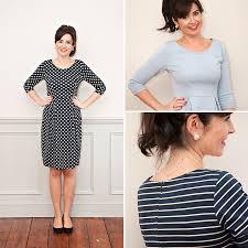 Knit Dress Pattern New Sew Over It Intro To Knit Fabrics Emma Dress Sew Over It