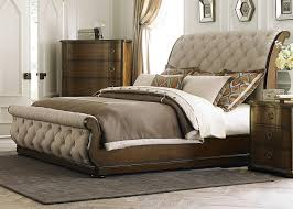 tufted upholstered sleigh bed. Wonderful Upholstered Liberty Furniture Cotswold Tufted Linen Upholstered Sleigh Bed 545BR By  For 138486 In H
