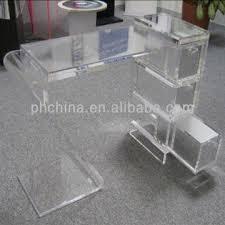 Image Plastic China Jad269 Crystal Lucite Acrylic Office Deskacrylic Desk Globalmarketcom Jad269 Crystal Lucite Acrylic Office Deskacrylic Desk With Drawers