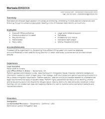 Paralegal assistant resume