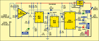 fuel reserve indicator full circuit source code fuel reserve indicator circuit
