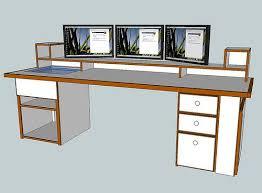 Attractive Computer Desk Plans Custom Computer Desk For Your Home Custom  Computer Desk Plans