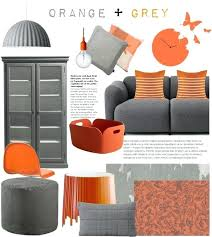 orange living room accessories orange grey in top interior design looks living room orange room and