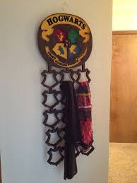 picture of harry potter themed modular scarf rack