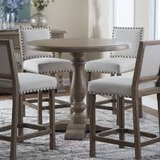 belham living kennedy round counter height 42 in gathering table from hayneedle