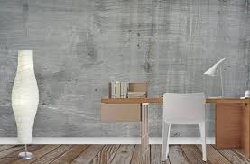 Small Picture Concrete Wallpaper Murals Interior Design Ideas Pictowall