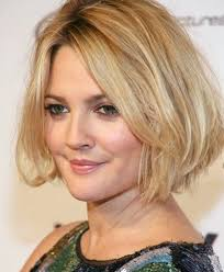 shiny hairstyles for round faces