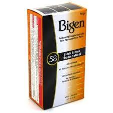 Bigen Oriental Black Permanent Powder Hair