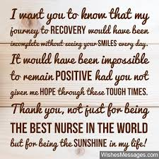 Thank You Notes For Nurses Thank You Notes For Nurses Quotes And Messages To Say Thanks