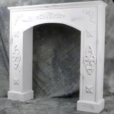 White fireplace mantel surround White Wooden Wayfair Mrmjs Wooden Fireplace Mantel Surround Wayfair
