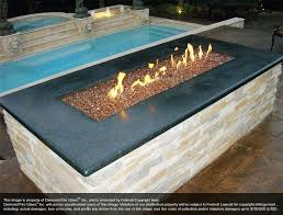 how to use fire pit glass installed copper reflective round fire pit glass guard