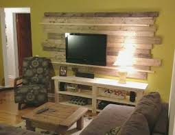 pallet wood accent wall bathroom. wood planked pallet accent wall behind the tv (remove and replace) bathroom