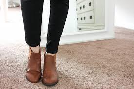 refresh womens tildon almond simple flat heel ankle booties