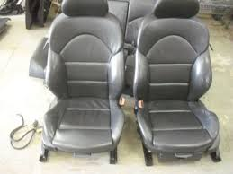bmw e46 m3 full black leather interior seats
