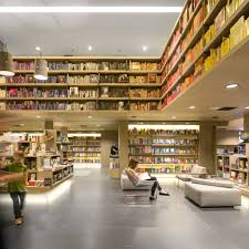 Book Cafe Design Concept Bookshops Dezeen