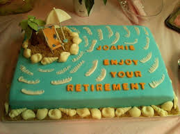 What Are Some Ideas On What To Write On A Retirement Cake Quora