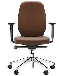 brown leather office chair. Natural Leather Office Chair In Brown O