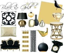 Gold Black And White Bedroom Black And White Room Theme Black White ...